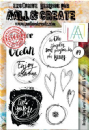 AALL and Create A6 Clear Stamp Set #9 by Carol AndCo